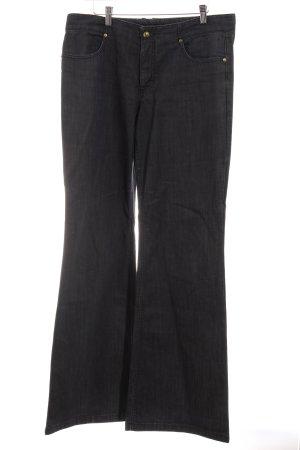 Escada Sport Straight-Leg Jeans dunkelgrau Casual-Look