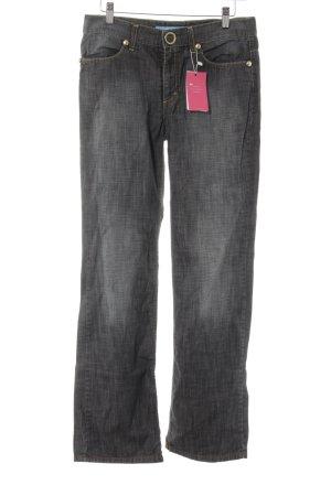 Escada Sport Straight-Leg Jeans graublau Casual-Look