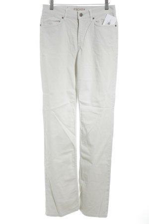 Escada Sport Straight-Leg Jeans hellbeige Casual-Look