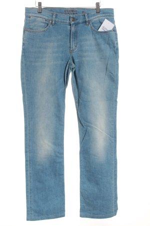 Escada Sport Straight-Leg Jeans hellblau Casual-Look