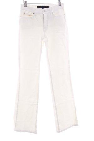 Escada Sport Straight-Leg Jeans wollweiß Casual-Look
