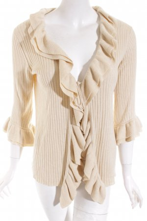 Escada Sport Strick Cardigan creme Romantik-Look