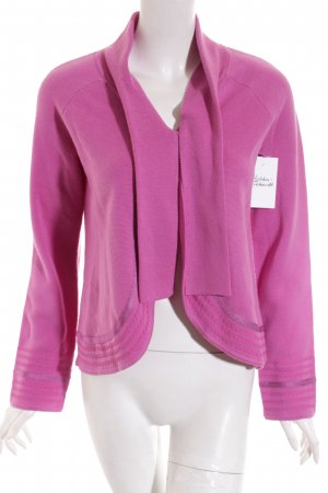 Escada Sport Strickjacke violett Casual-Look