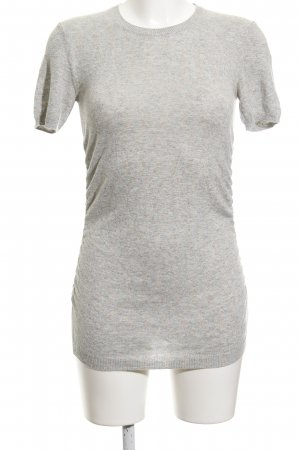 Escada Sport Strickshirt hellgrau Casual-Look