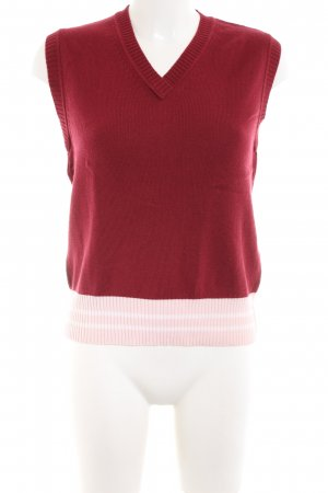 Escada Sport Knitted Vest red casual look