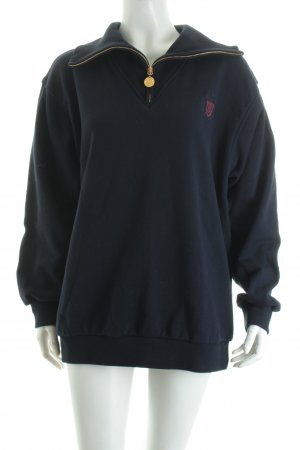 Escada Sport Sweatshirt dunkelblau Casual-Look