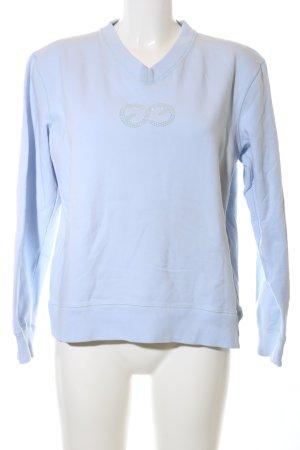 Escada Sport Sweatshirt blau Casual-Look
