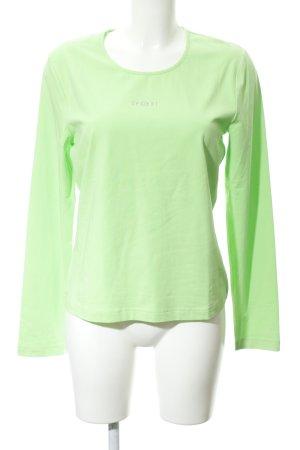 Escada Sport Sweatshirt grün Casual-Look