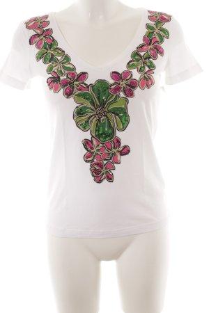 Escada Sport T-Shirt Blumenmuster Casual-Look