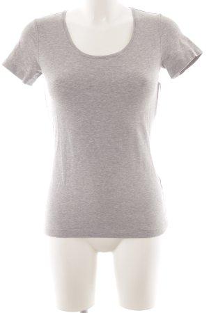 Escada Sport T-Shirt hellgrau schlichter Stil