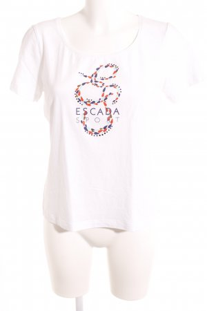 Escada Sport T-Shirt Motivdruck Casual-Look