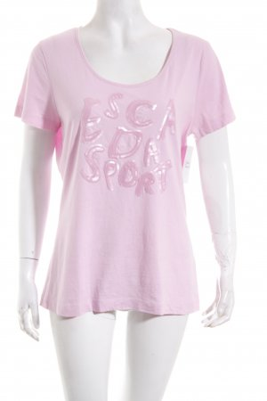 Escada Sport T-Shirt rosa Casual-Look
