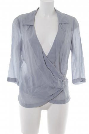 Escada Sport Wraparound Blouse pale blue elegant