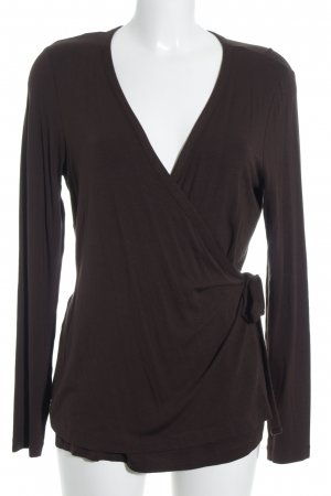 Escada Sport Wraparound Jacket dark brown street-fashion look