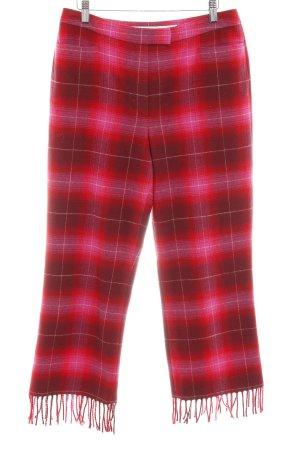 Escada Sport Wollen broek geruite print extravagante stijl