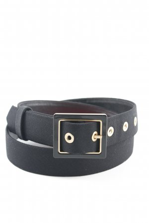 Escada Fabric Belt black-gold-colored elegant