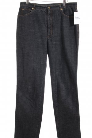 Escada Straight-Leg Jeans anthrazit meliert Casual-Look