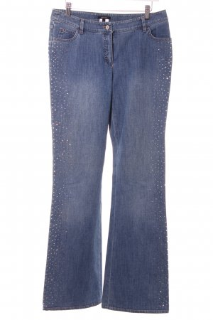 Escada Straight-Leg Jeans blau Casual-Look