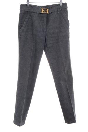 Escada Straight-Leg Jeans grau Casual-Look