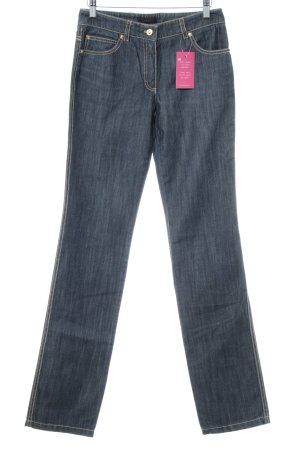 Escada Straight-Leg Jeans graublau Casual-Look