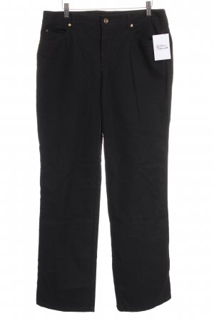 Escada Straight-Leg Jeans schwarz Business-Look