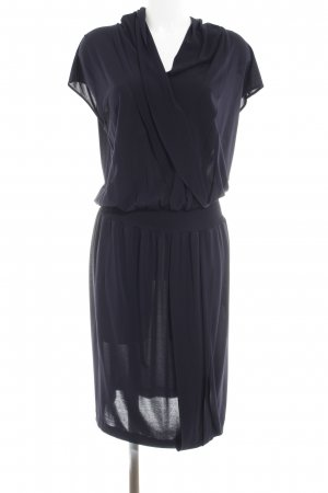 Escada Stretchkleid dunkelblau Casual-Look
