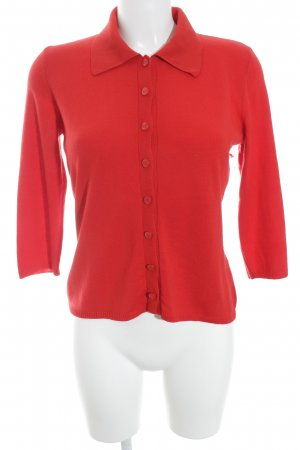 Escada Strick Cardigan rot Casual-Look