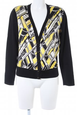 Escada Strickjacke Kunstmuster Casual-Look
