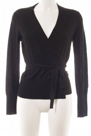 Escada Strickjacke schwarz Casual-Look