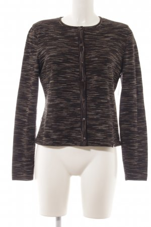 Escada Strickjacke Streifenmuster Casual-Look