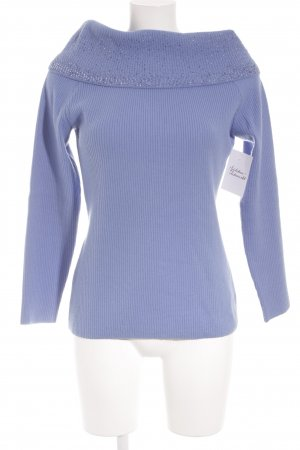 Escada Strickpullover himmelblau Casual-Look