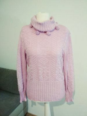Escada Christmasjumper pink-light pink mixture fibre