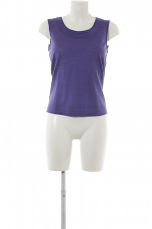 Escada Stricktop blauviolett Casual-Look
