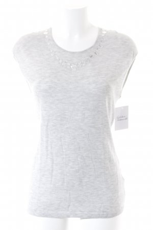 Escada Stricktop grau Casual-Look