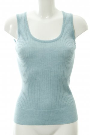 Escada Knitted Top azure extravagant style