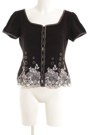 Escada Knitted Vest black-grey elegant