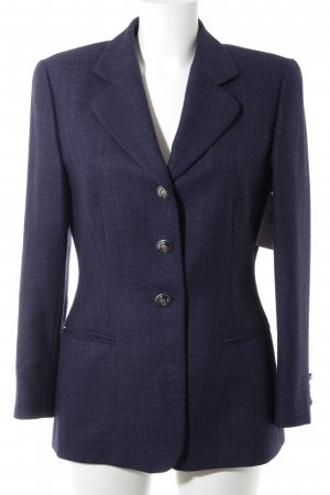 Escada Sweatblazer dunkelblau Business-Look