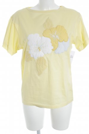 Escada T-Shirt Blumenmuster Casual-Look