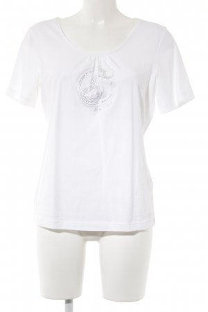 Escada T-Shirt weiß Casual-Look