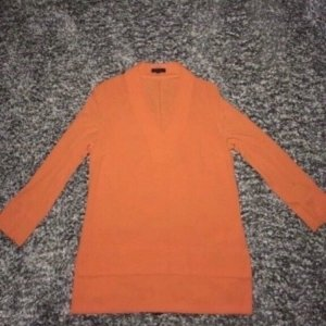 Escada Tuniekblouse neonoranje-oranje Viscose