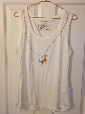 ESCADA Top White Label in Gr. L