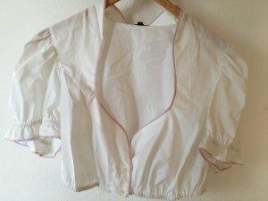 Escada Folkloristische blouse wit Katoen