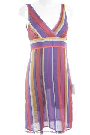 Escada Pinafore dress striped pattern beach look