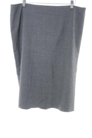 Escada Tweed rok lichtgrijs gestippeld zakelijke stijl