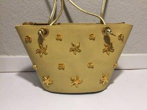 ESCADA Vintage Handtasche mit Muscheln und Seesternen