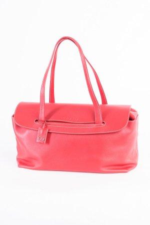 Escada Shopper red-silver-colored leather