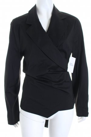 Escada Wickel-Bluse schwarz Elegant