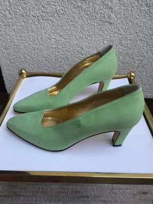 Escada Wildlederpumps