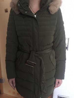 Escada Wintermantel in Khaki