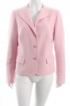 Escada Woll-Blazer rosa Business-Look